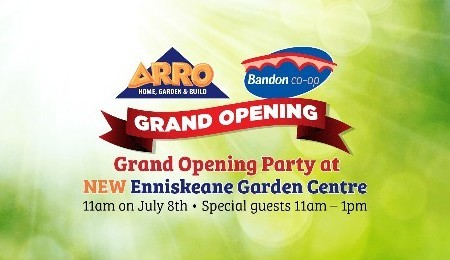 Grand Opening - Bandon Co-op Garden Centre Enniskeane
