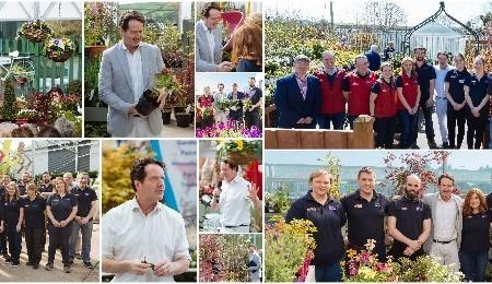 Diarmuid Gavin visits to Bandon Co-op Garden Centres