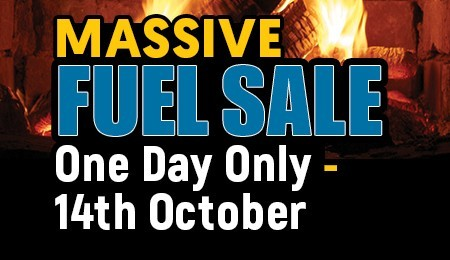 Massive One Day Fuel Sale Sat Oct 14th 2017