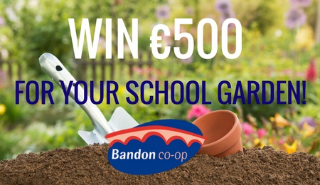 Win a €500 Gardening Voucher for your School