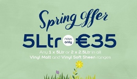 Dulux Spring Paint Offers