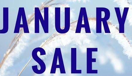 January Sale Starts 11th Jan