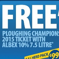 Offer for FREE Ploughing Championship Tickets