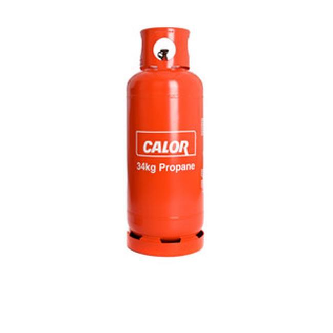 CALOR PROPANE GAS 34KG FULL DRUM REFILL