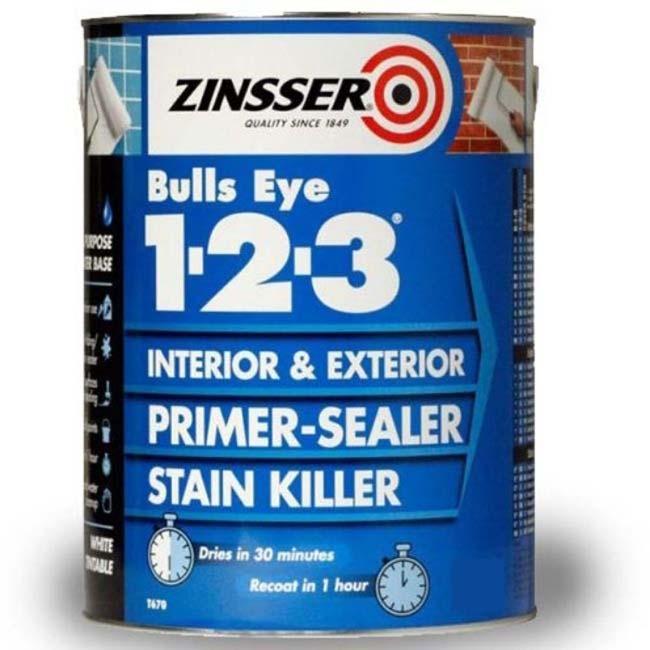 ZINSSER BULLS EYE 1-2-3 2.5 LITRES