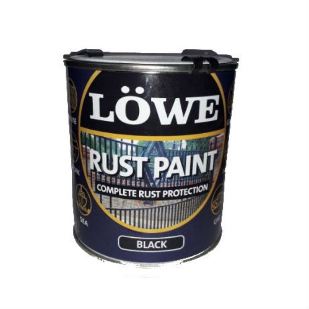 LOWE RUST BLACK PAINT 1L