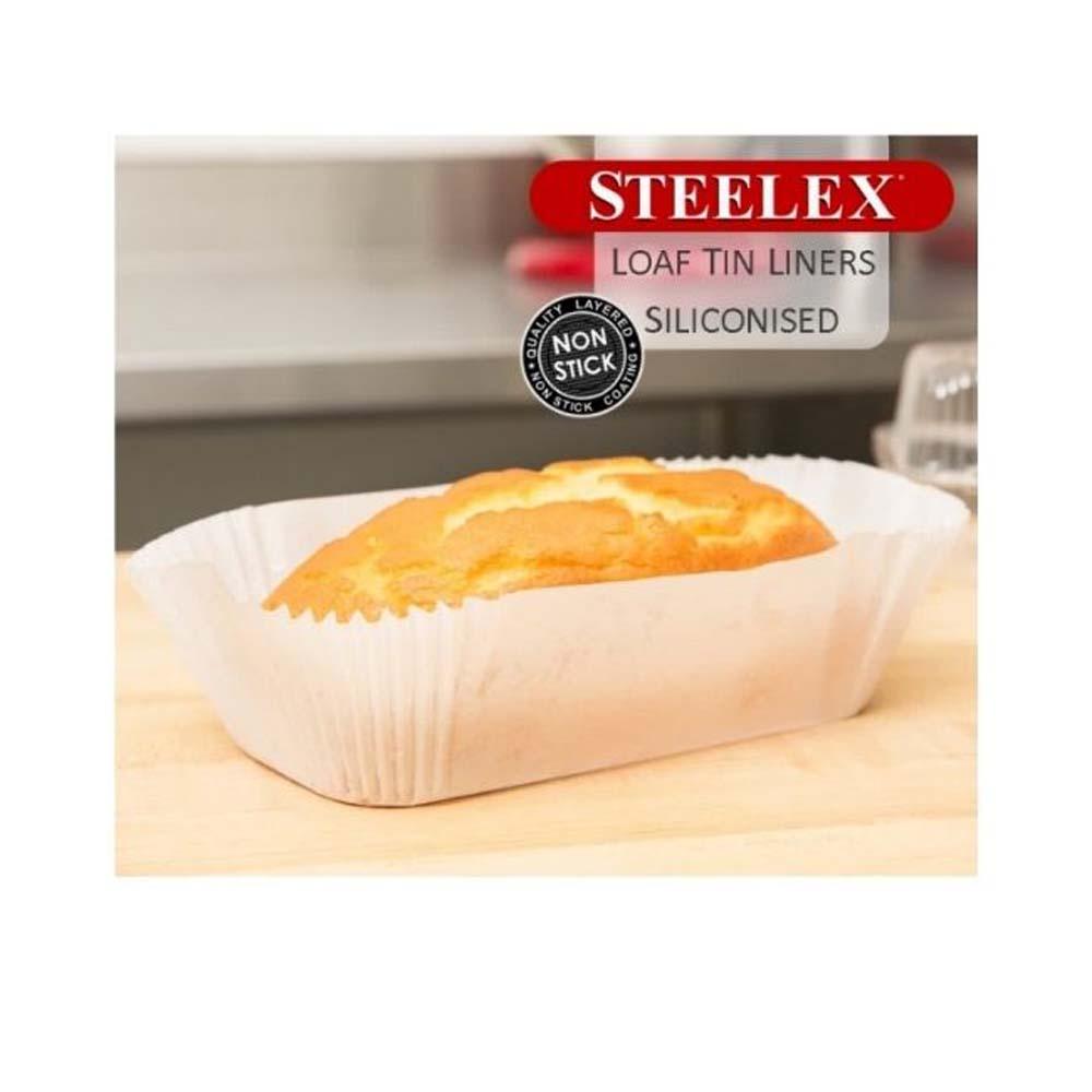 STEELEX 40PK 2LB LOAF LINERS