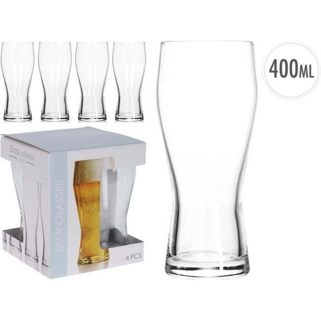 BEER GLASSES 400ML