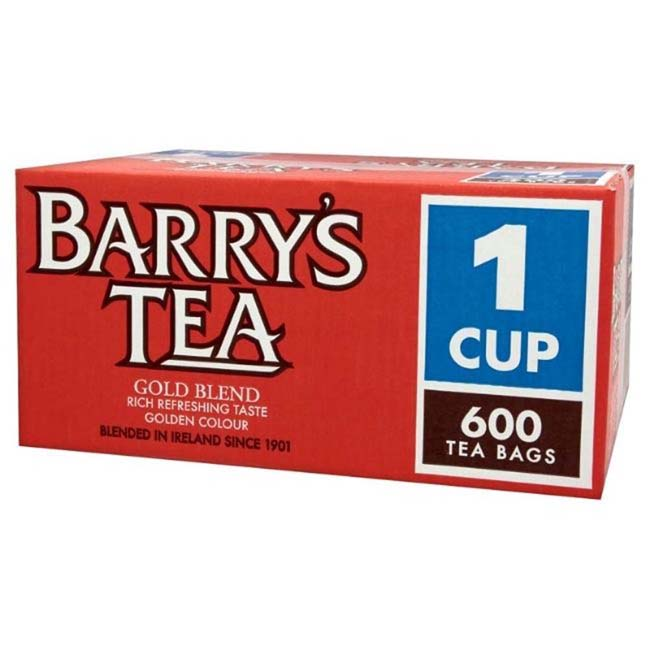 BARRYS GOLD BLEND TEA 600 BAGS