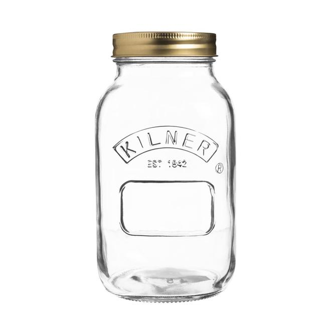 KILNER CLIPTOP 1L PRESERVE BOTTLE