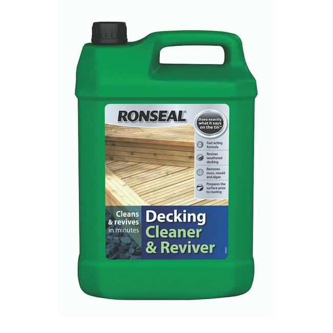 RONSEAL DECKING CLEANER & REVIVER 5L