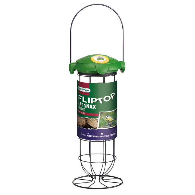 PECKISH FLIP TOP ENERGY BALL FEEDER