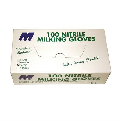 NITRILE MILKING GLOVES