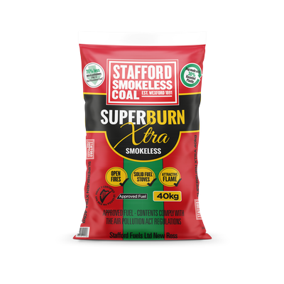 SUPERBURN XTRA SMOKELESS COAL 40KG