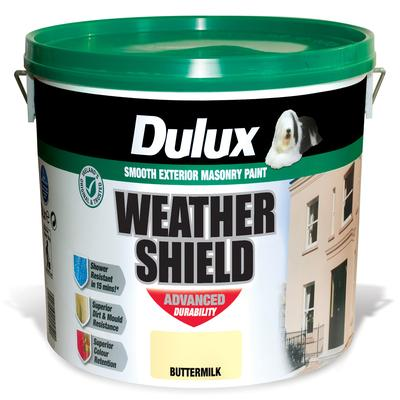 DULUX WEATHERSHIELD COLOUR 10 LTR