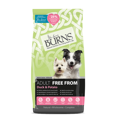 BURNS FREE FROM DUCK & POTATO 6KG