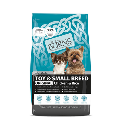BURNS CHICKEN & RICE SMALL DOG 2KG